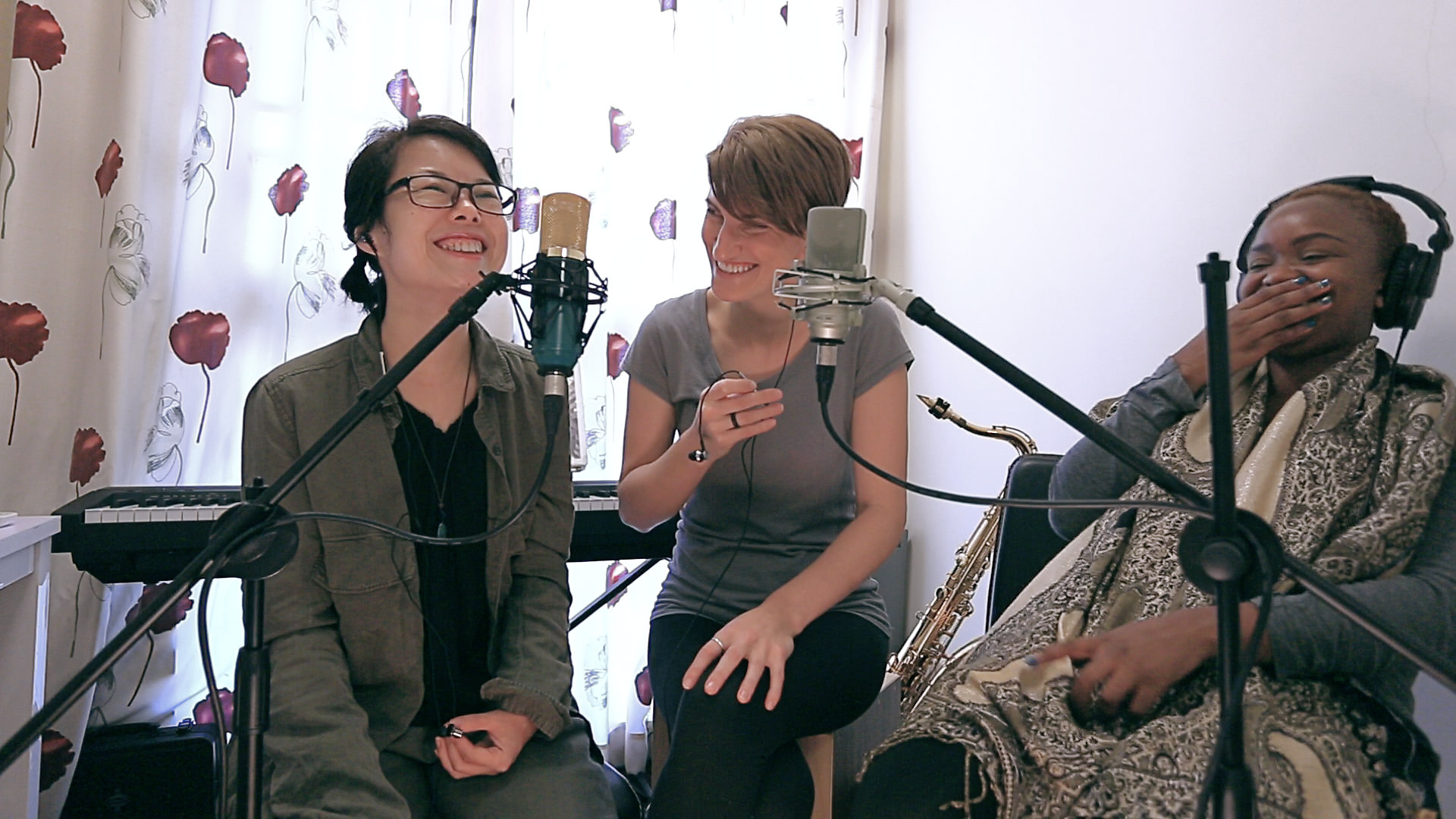 Cora Rose and Friends Recording Be