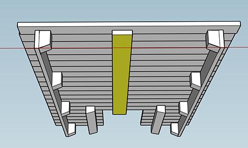skoolie-roof-deck-build-beam